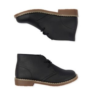 Boys Uniform Lace Up Boots